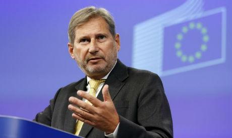 EU Commissioner Johannes Hahn