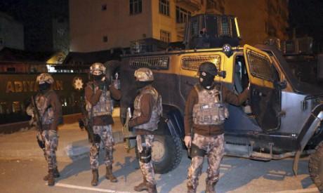 Turkish anti-terrorism police