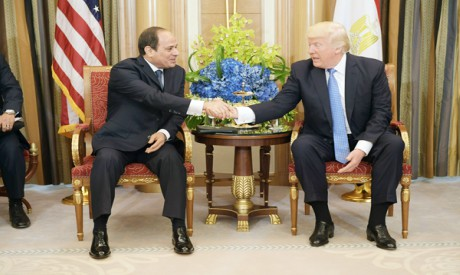 al-Sisi and Trump