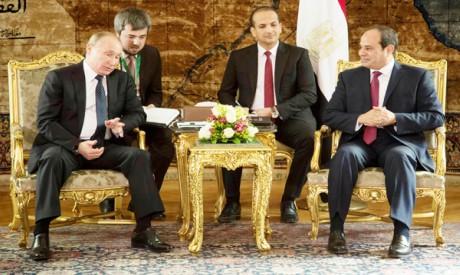 al-Sisi and Putin