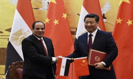 al-Sisi and Xi