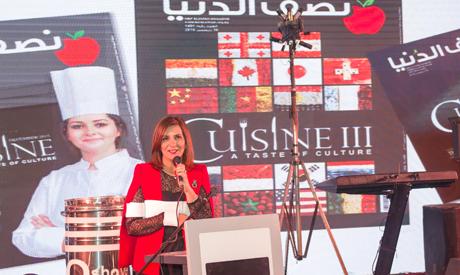 Minister Nabila Makram ( courtesy of: Alaa abdel Bary)