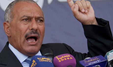 Former Yemeni president Ali Abdullah Saleh (AFP)