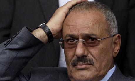 Former Yemeni President Ali Abdullah Saleh (ap)