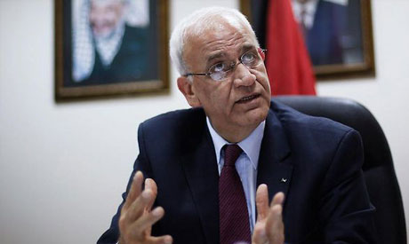 Saeb Erekat (Photo: Reuters)