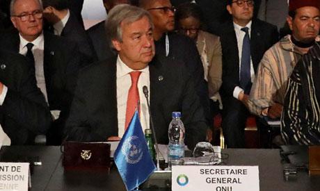 UN general secretary Antonio Guterres (Reuters)