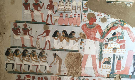 Luxor Tomb Discovery Could Inflate Egypt's Sagging Tourist Industry