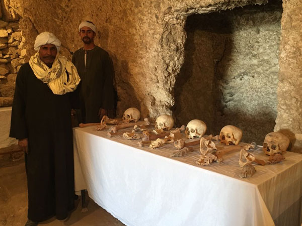 Egypt announces discovery of 2 ancient tombs in Luxor