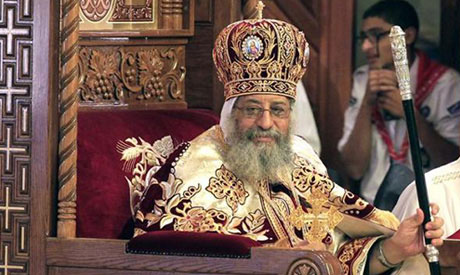 Egypt's Coptic Pope refuses to meet United States vice president