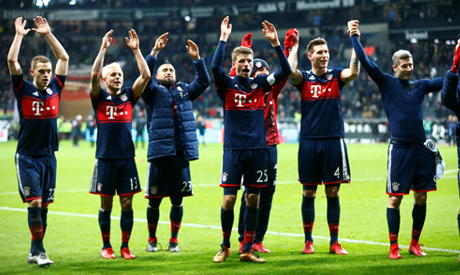 Lacklustre Bayern beat Eintracht to stretch lead