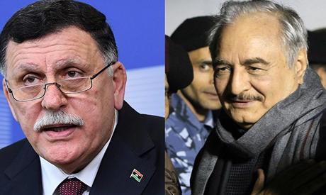 Al-Sarraj and Hafter