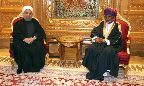 Ahram Online - Iran's Rouhani in Gulf to soothe relations
