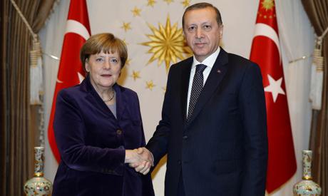 Merkel & Erdogan