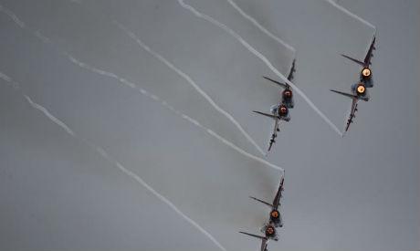 MiG-29 jet fighters