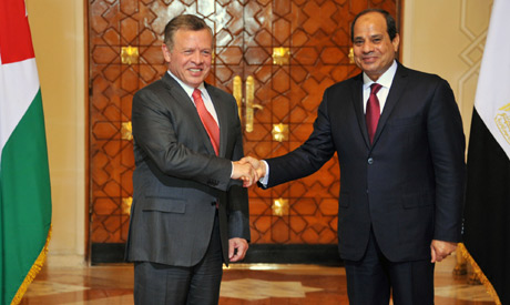 Jordan, Egypt back two-state solution for Israel-Palestine conflict