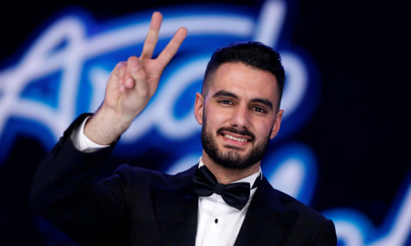 Palestinian singer Yaqoub Shaheen
