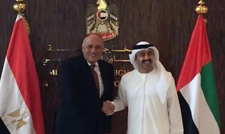 Shoukry and Bin Zayed
