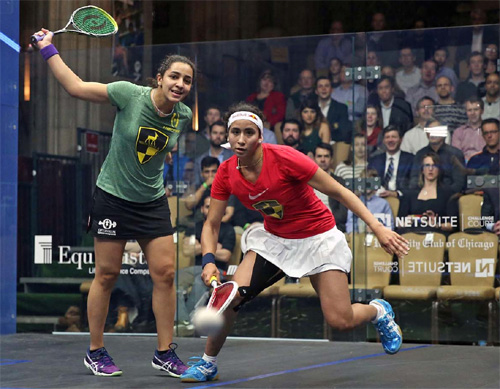2015 and 2016 Women's champion Raneem El Welily