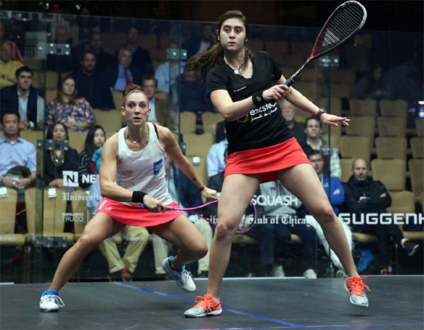 World No.1 Nour El Sherbini