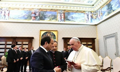 Sisi- Pope Francis