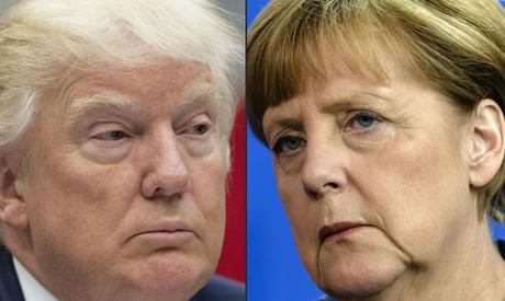Merkel postpones trip to meet Trump due to winter storm