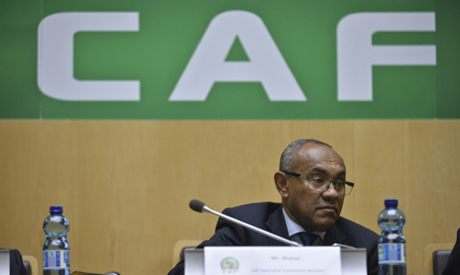CAF president Ahmed