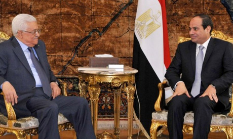 Egypt leader to raise Palestine issue with U.S. president