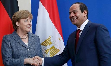 Sisi and Merkel