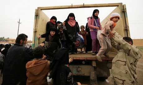 Iraqi displaced citizens