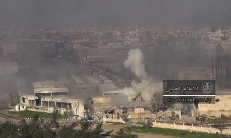 Syrian army, militants clash ahead of Geneva peace talks