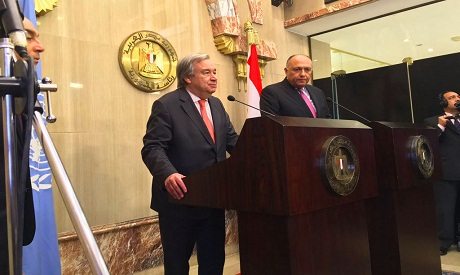 Guterres and Shoukry