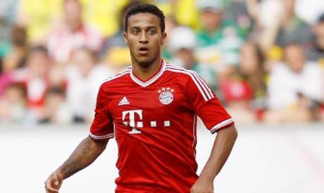 Bayern Munich midfielder Thiago Alcantara (Reuters)