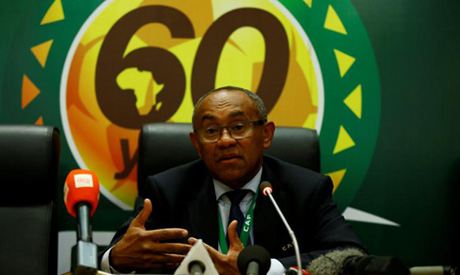 CAF new President Ahmed (Reuters)