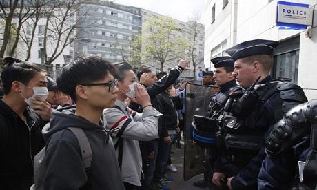 France-China clash