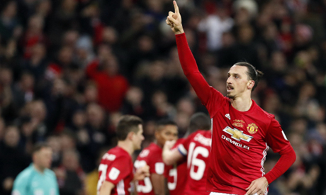 Zlatan Ibrahimovic could miss Manchester United's FA Cup tie with Chelsea