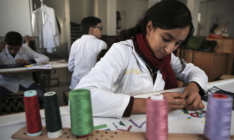 embroidery school