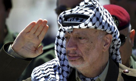 File photo: Former Palestinian President Yasser Arafat (Reuters)