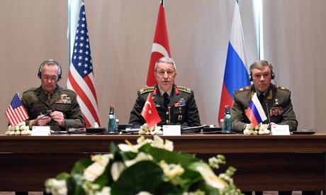 Turkey, Russia, US talks