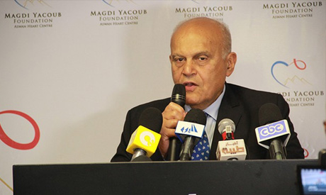 Egyptian heart surgeon Magdy Yacoub (Photo: myf-egypt.org)