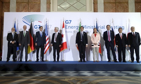 G7 ministers meeting