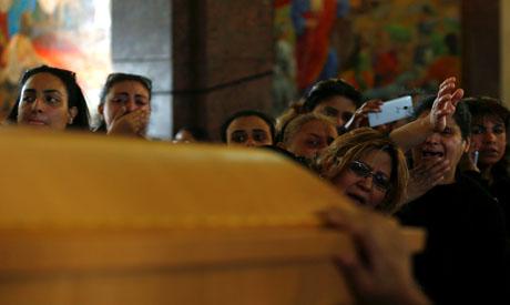 Mourners Mar Mina