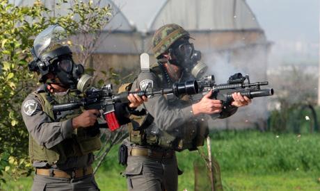 Israeli occupation troop