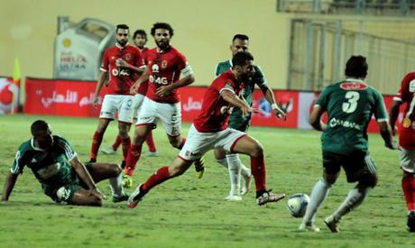 Ahly players (Al-Ahram)