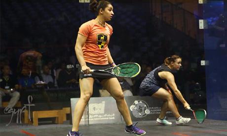 Egypt squash player Raneem El Welily (Photo: twitter.com/ElGounaSquash )