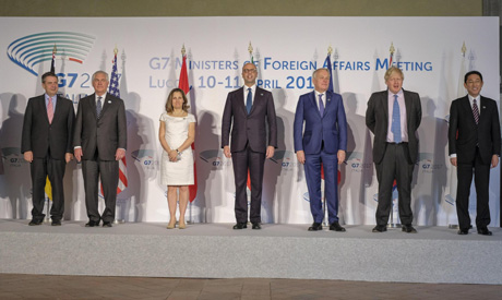 G7 in Lucca