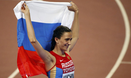 IAAF clears Russian world champions Kuchina and Shubenkov to compete as neutrals