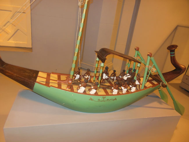 model of cargo ship for King Ape
