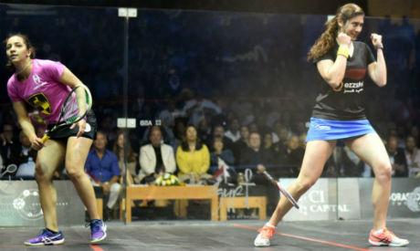 Egypt's Nour El-Sherbini Retains Title at World Squash Championship