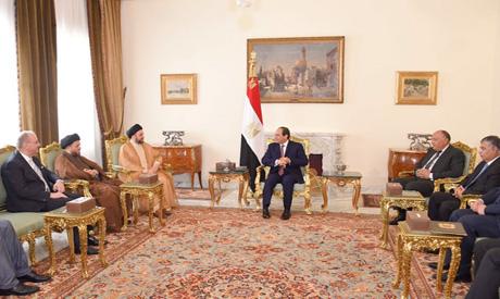 El-Sisi and El-Hakim