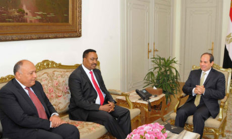 El-Sisi and Gebeyehu